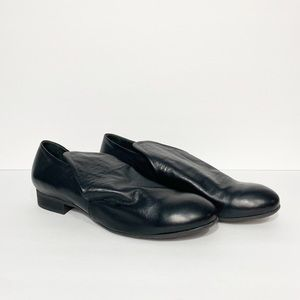 Anthropologie | NWOB Bueno black Leather Loafers